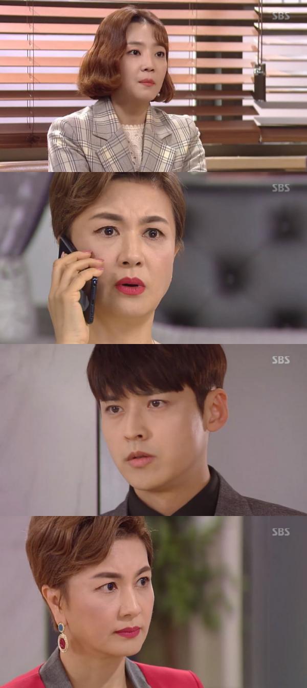 ▲'수상한 장모' 박진우가 김혜선에게 아들을 찾아주겠다고 말했다.(SBS '수상한 장모' 방송화면 )