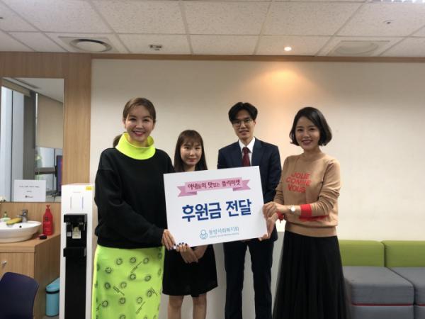 ▲'아내의 맛' 이하정-문정원-장영란 플리마켓(사진제공 = TV CHOSUN)