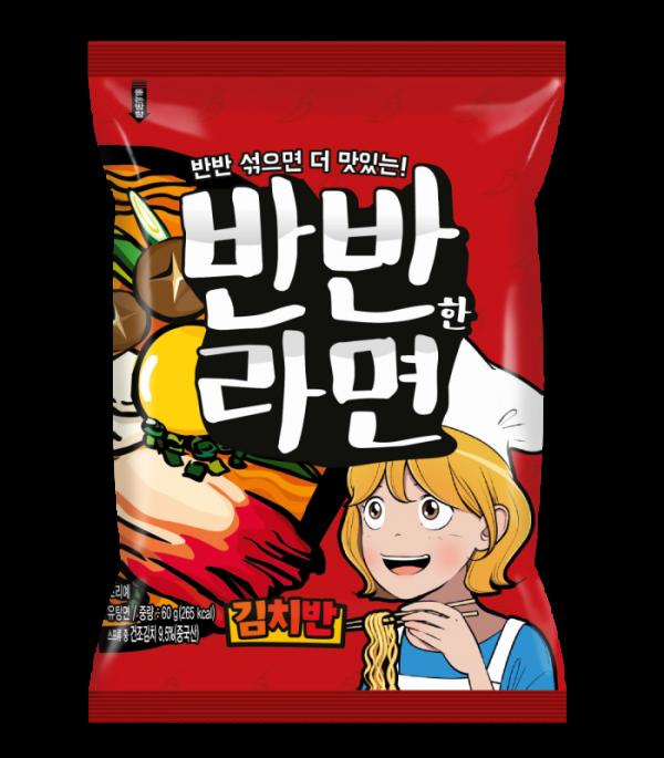 ▲반반한라면_김치맛 (사진제공=신세계TV쇼핑)