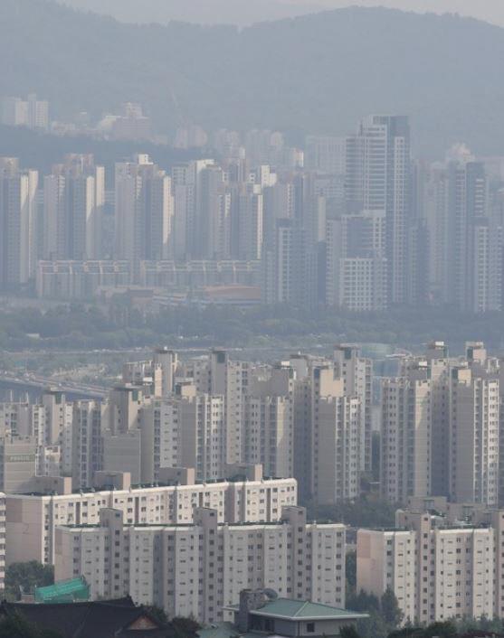 ▲서울 시내 아파트 단지의 모습.(연합뉴스)