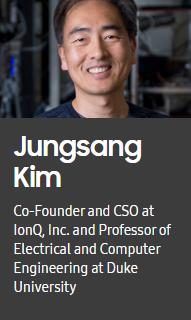 ▲삼성 CEO 서밋에서 발표자로 나서는 아이온큐 창립자 김정상 듀크대 교수.  (삼성 CEO 서밋 홈페이지 캡쳐.)