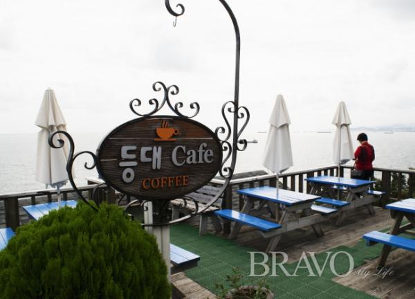 ▲바다가 보이는 카페(서동환 동년기자)