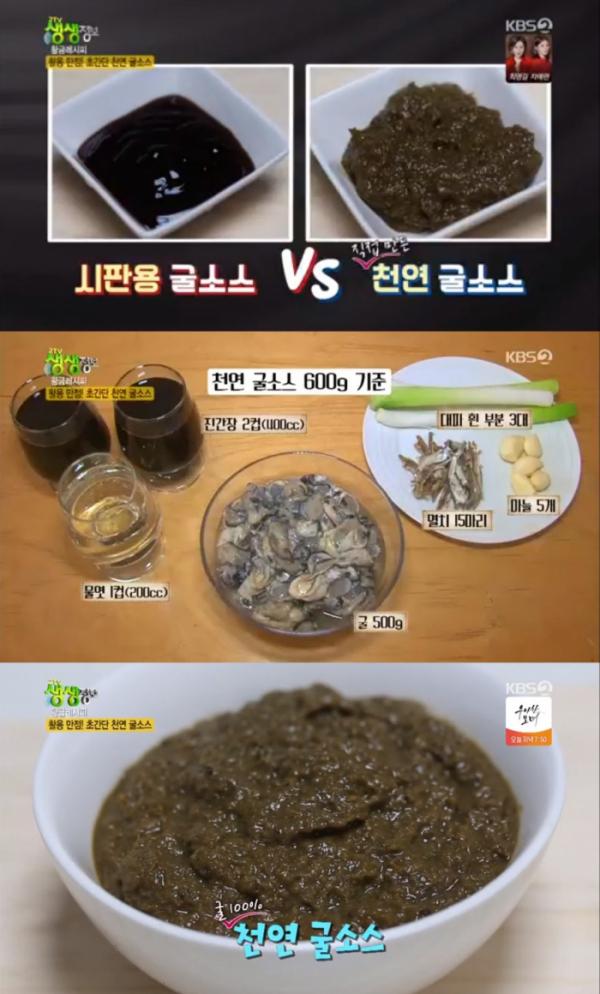 (KBS2 '생생정보' 황금레시피)