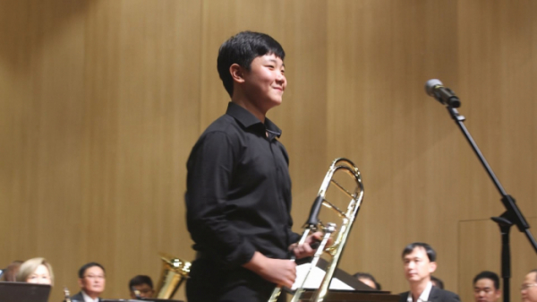 '영재발굴단', 2년 만에 오케스트라와 협연…13세 트롬본 재능러