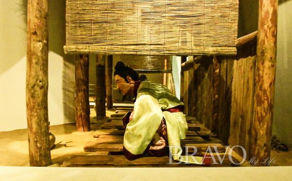 ▲익산 왕궁리 유적전시관(이현숙 동년기자)