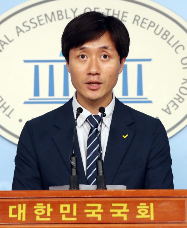 ▲유상진 정의당 대변인 (사진=뉴시스)