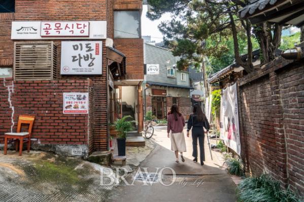▲미도다방이 있는 진골목(김혜영 여행작가)