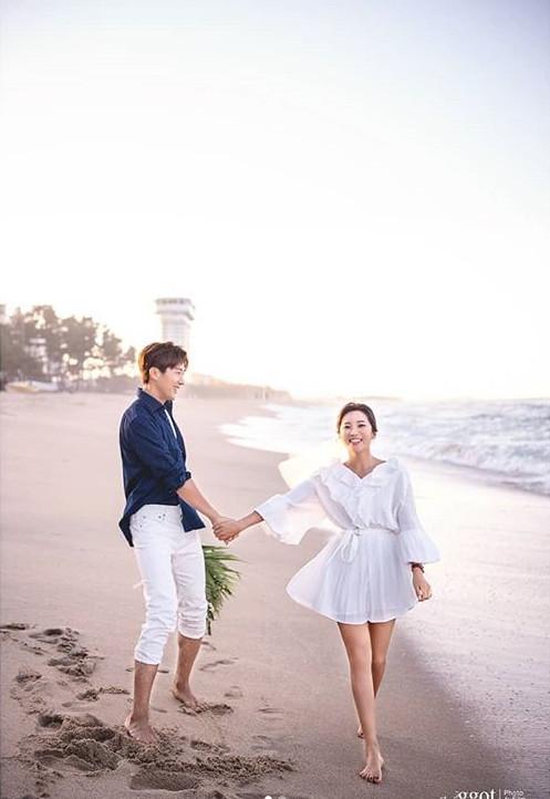 ▲이완♥이보미 결혼(사진=세인트지지오티 인스타그램)