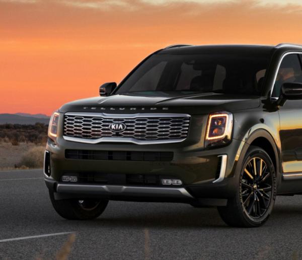 ▲기아차 가운데 처음으로 북미 전용 SUV 텔루라이드가 '2020 북미 올해의 차' SUV 부문에 선정됐다.  (사진제공=기아차)