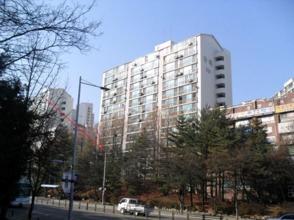 ▲경기 군포시 산본동 우륵아파트 모습.