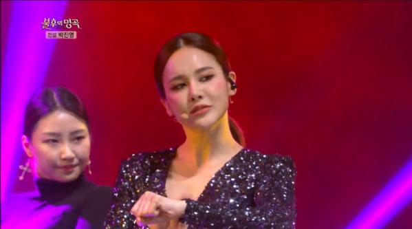 ▲'불후의 명곡' 아이비(사진제공=KBS2)