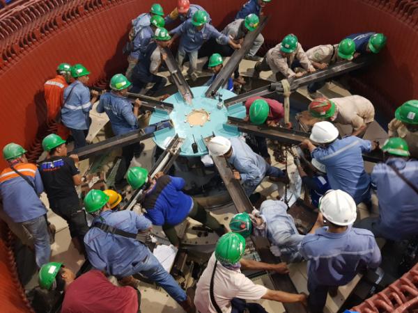 ▲대상작 '인도네시아 라자만달라 수력발전소'. (현대엔지니어링)