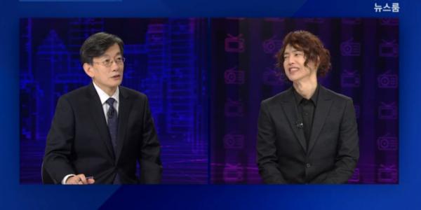 ▲JTBC 뉴스룸 '슈가맨' 양준일(사진제공=JTBC)