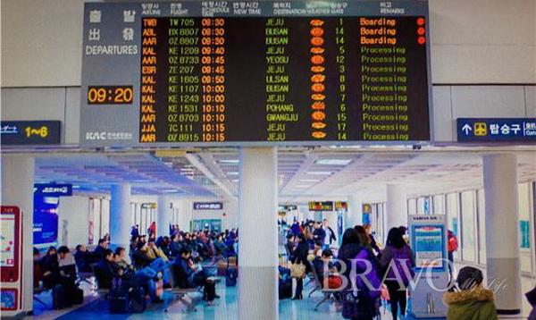 ▲김포공항 국내선 탑승구 모습(홍지영 동년기자)