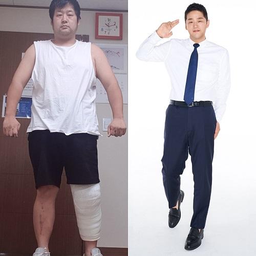 ▲용이매니저 다이어트(변지점프를 하다)