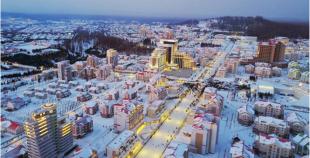 ▲북한의 삼지연읍지구 (사진제공=전경련, 조한범 통일연구원 선임연구위원  )