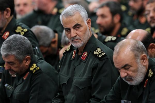 ▲미군의 공습에 의해 사망한 이란 혁명수비대의 정예조직 '쿠드스군(Quds forces)'의 거셈 솔레이마니 사령관. EPA연합뉴스