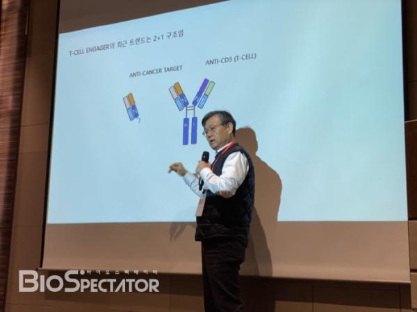 ▲와이바이오로직스 박영우 대표(바이오스펙테이터)