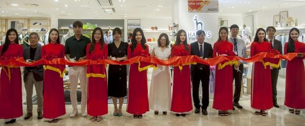 ▲LF '헤지스' 베트남 호찌민 매장 오픈 기념식