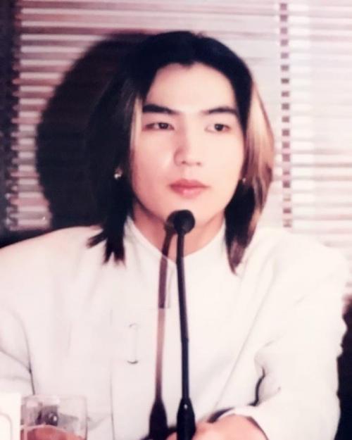 ▲고 김환성의 생전 모습 (출처=노유민 SNS)