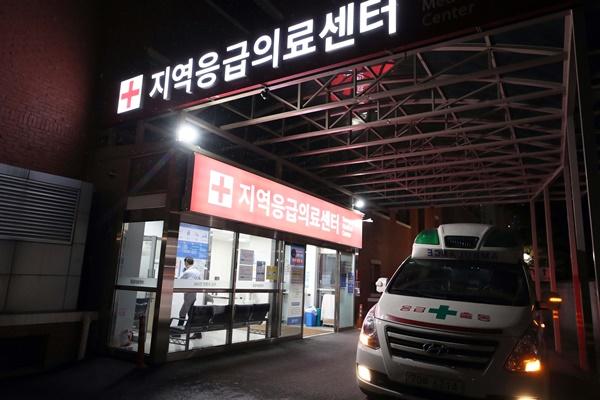 ▲부산 대동병원 응급실.  (연합뉴스)