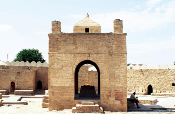 ▲아제르바이잔 조로아스터교 아테시카 사원