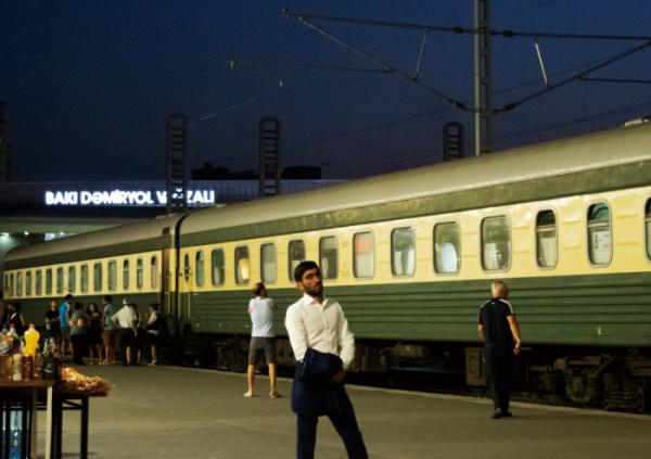 ▲트빌리시행 야간열차