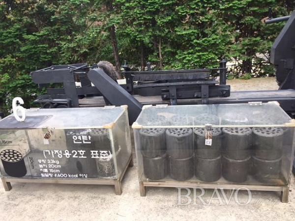 ▲제6파트 : 실제 제조된 연탄(사진 홍지영 동년기자)