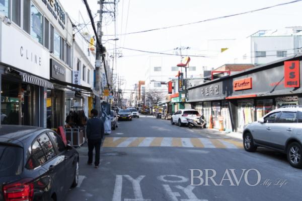 ▲성수동 거리 풍경(사진=서동환 동년기자)