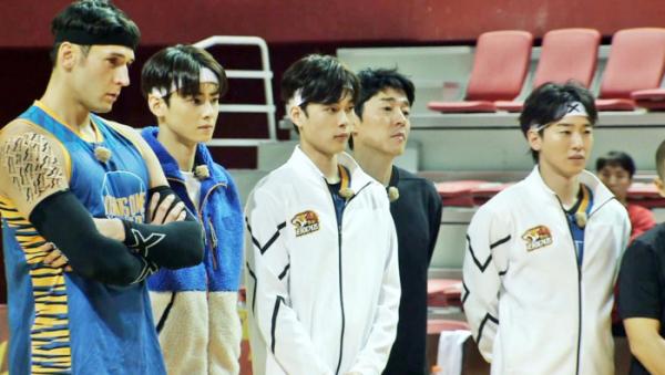 ▲'진짜 농구, 핸섬타이거즈' 차은우(사진제공=SBS)