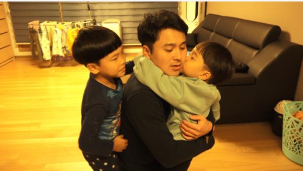 """'인간극장' 삼 형제의 아빠, 싱글대디 강승제 씨 """"나는 아빠입니다"""""""