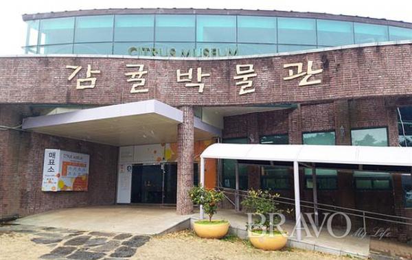 ▲감귤박물관 현관(사진 홍지영 동년기자)