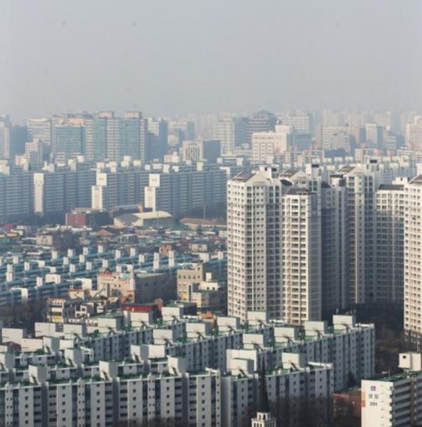 ▲경기도 수원시 아파트 밀집지역 모습.  (연합뉴스)