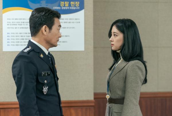 ▲'메모리스트' 이세영, 조성하(사진제공=tvN)