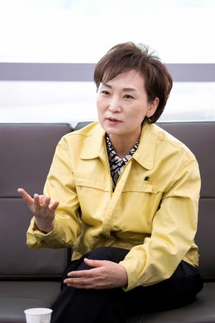 ▲김현미 국토교통부 장관. (사진제공=국토교통부)