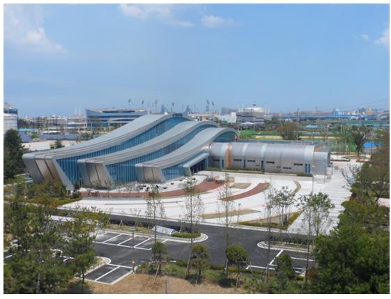 ▲롯데건설이 시공한 아시아 최대 규모의 포항 하수처리수 재이용시설 전경.  (사진 제공=롯데건설)