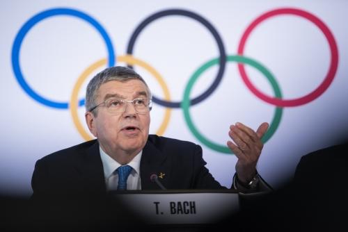 ▲토마스 바흐 국제올림픽위원회(IOC) 위원장.(AP/뉴시스)
