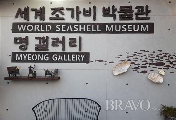 ▲세계조가비박물관 정면(사진 홍지영 동년기자)