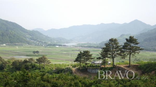 ▲평사리에서 바라 본 섬진강(사진= 서동환 동년기자)