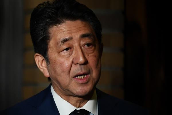 ▲아베 신조 일본 총리. 도쿄/AP연합뉴스