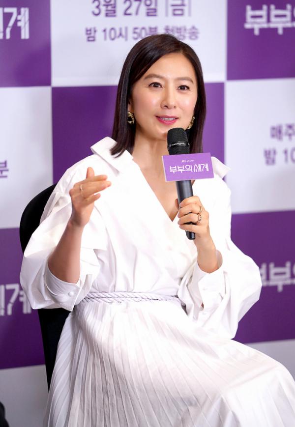 ▲'부부의 세계' 김희애(사진제공=JTBC)