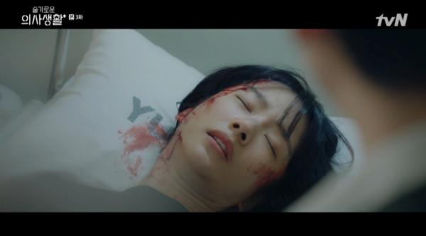 ▲곽선영이 이익준(조정석)의 동생 이익순으로 등장했다.(사진=tvN '슬기로운 의사생활' 방송화면 캡처)