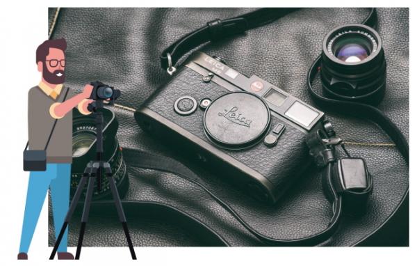 ▲아날로그 감성의 디지털 카메라 라이카.(셔터스톡)