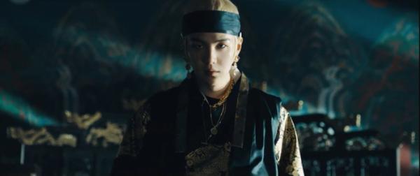 ▲방탄소년단 슈가 '대취타' MV(사진제공=빅히트엔터테인먼트)