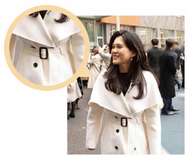 ▲이부진 호텔신라 사장이 아들의 초등학교 졸업식 때 입은 '더로우' 브랜드의 코트는 1800만 원 상당인 것으로 알려졌다.(더팩트)