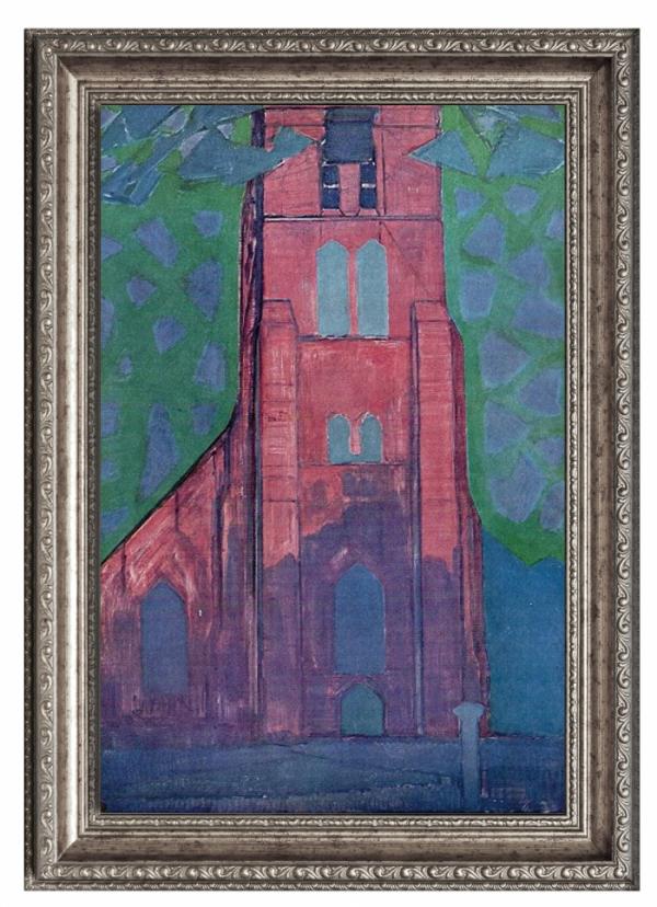 ▲돔뷔르흐의 교회 탑(캐나다 매거진 'The WITH' 제공)