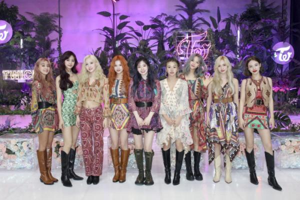 ▲미니 9집으로 컴백한 JYP엔터테인먼트 소속 걸그룹 트와이스 (사진제공=JYP)