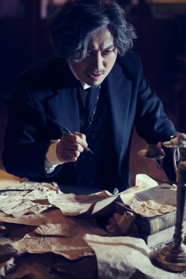 ▲'루드윅, 베토벤 더 피아노'에서 베토벤을 연기하는 배우 서범석(과수원뮤지컬컴퍼니)
