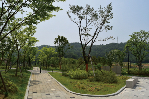 ▲지역 내에 여러 공원이 조성돼 있어 언제든지 편안한 여가를 보낼 수 있다.