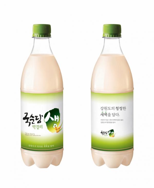 ▲'국순당 생막걸리' (사진제공=국순당)